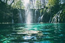A walk among crystal clear lakes in Plitvice, Croatia